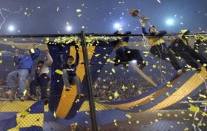 La Bombonera ensandecida - Foto: AP Photo/Natacha Pisarenko/BD