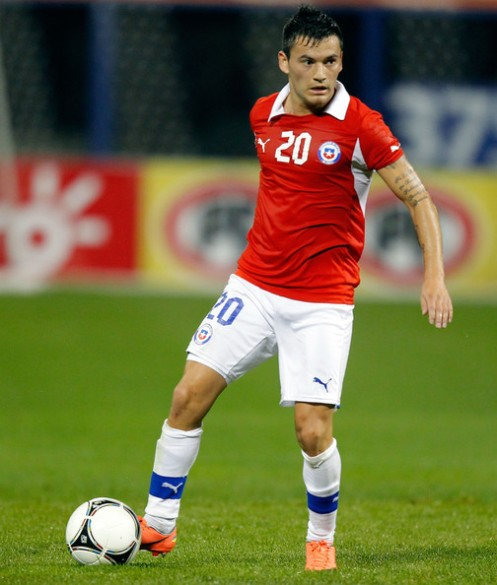 Aranguíz, único jogador do RS convocado para a Copa 2014.