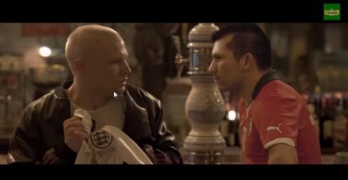 """Comercial de cerveja mostra """"temor"""" dos rivais contra o Chile"""